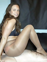 Pantyhose and Facesitting