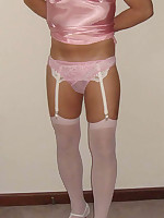 Various shots of horny pantie boyz in lingerie